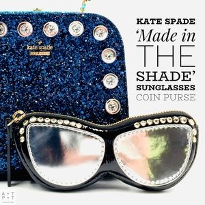 Kate Spade Made in the Shade Sunglasses Coin Purse